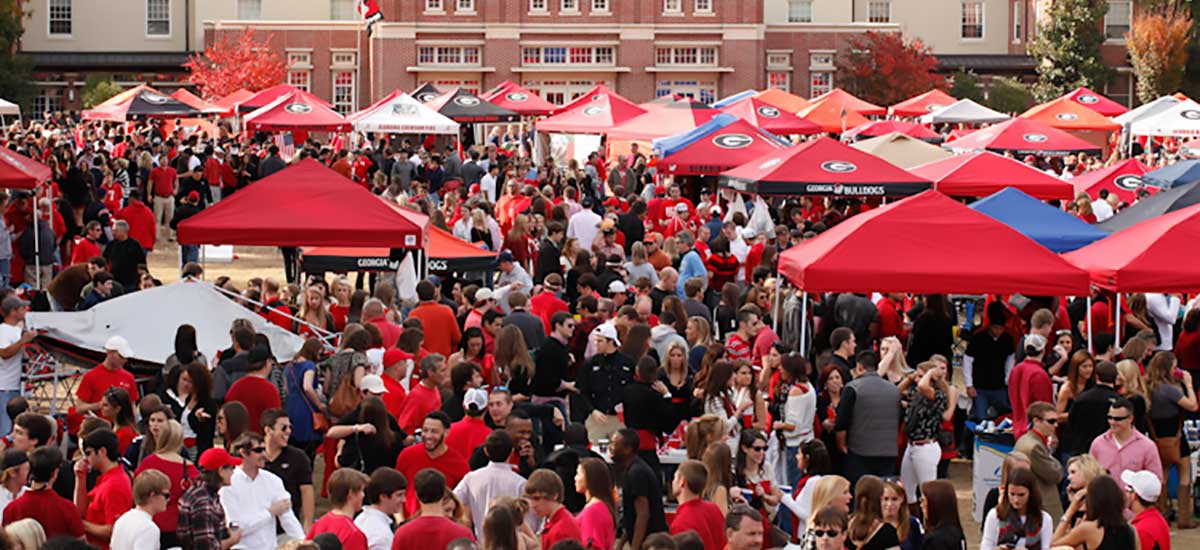 Best Uga Football Tailgating Locations In Athens
