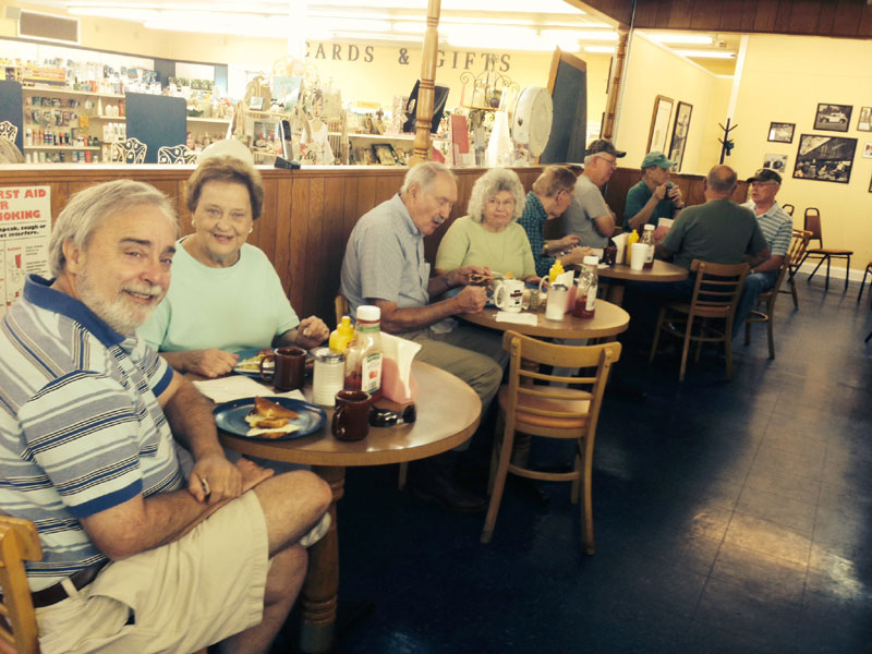 Gainesville Eats: The Coffee Shop at Lawrence Pharmacy