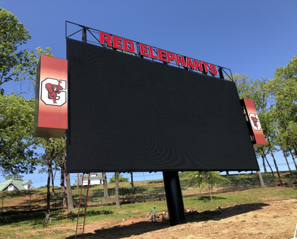 Gainesville's City Park installs largest scoreboard in the Southeast